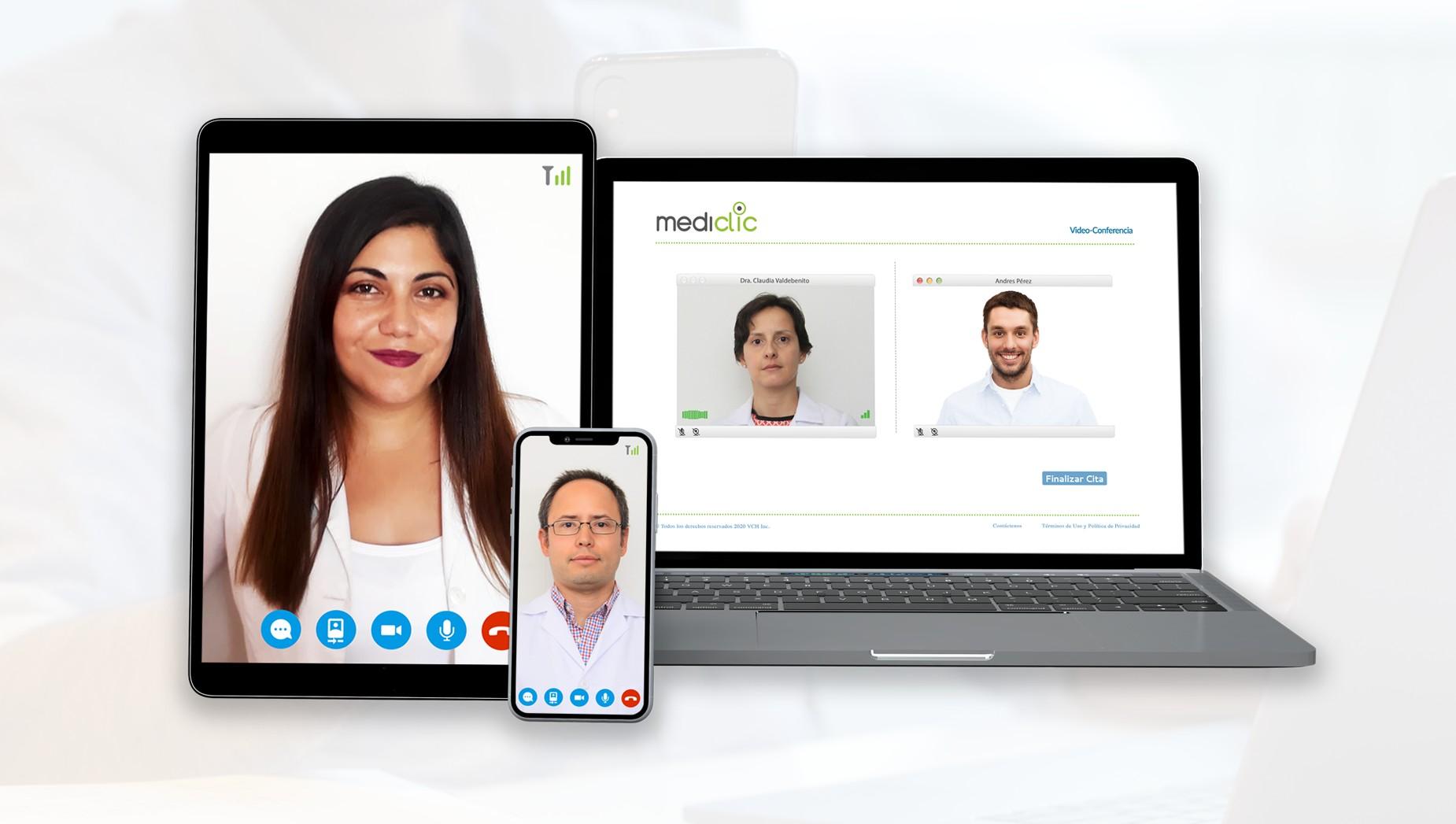 Mediclic, un doctor en línea siempre disponible
