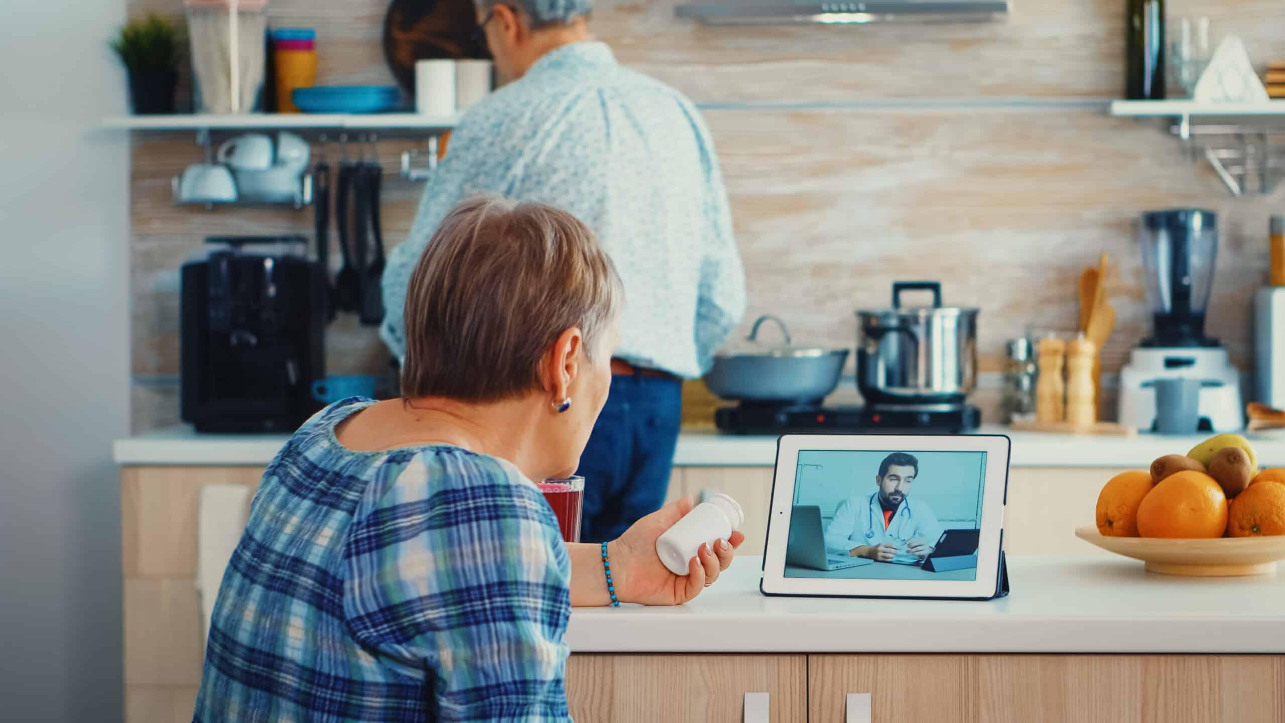 plataforma de telemedicina para adultos mayores